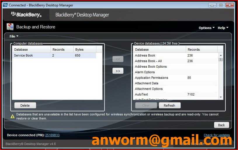 Browserconfig: Enable (hack) BlackBerry Browser Without BIS/BES